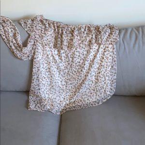 torrid one sleeve blouse